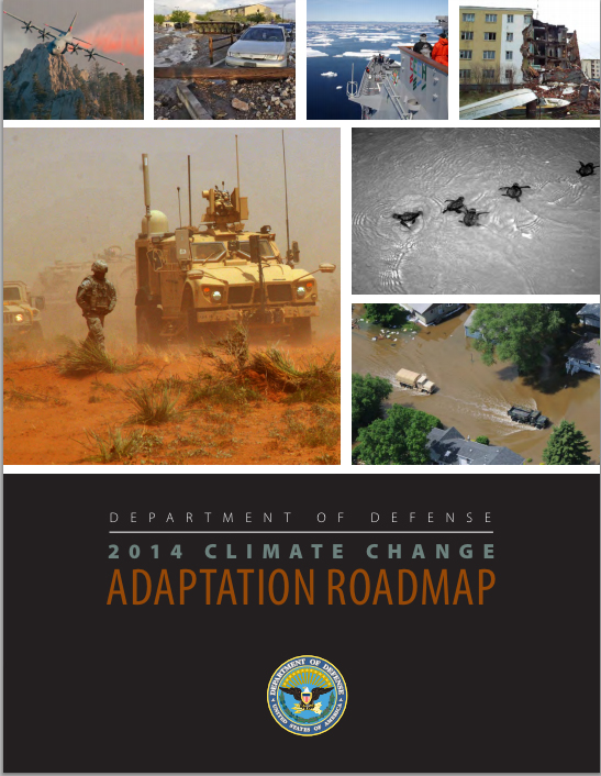 US DoD CC Adaptation Roadmap 2014.cover graphic