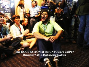Durban.Occupy the COP.Widick