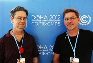 John & Richard in Doha