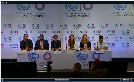 IICAT UNFCCC PC 2 Press Conference
