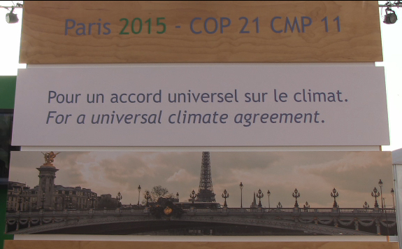 PARIS COP 21 Installation at Lima COP 20