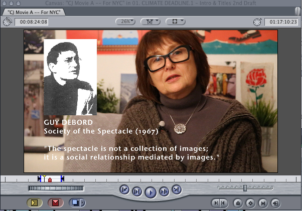 Eva Charkiewics + Guy Debord Graphic
