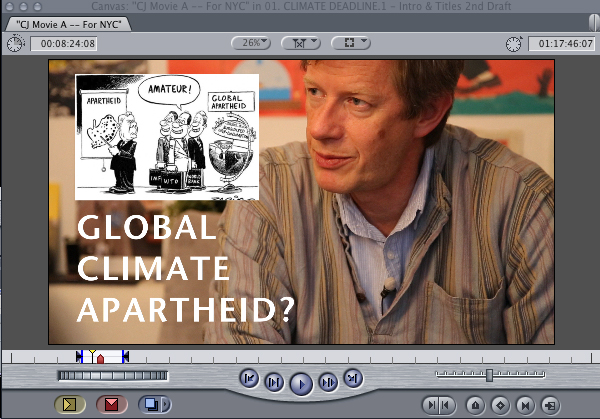 Patrick Bond + Global Apartheid Graphic